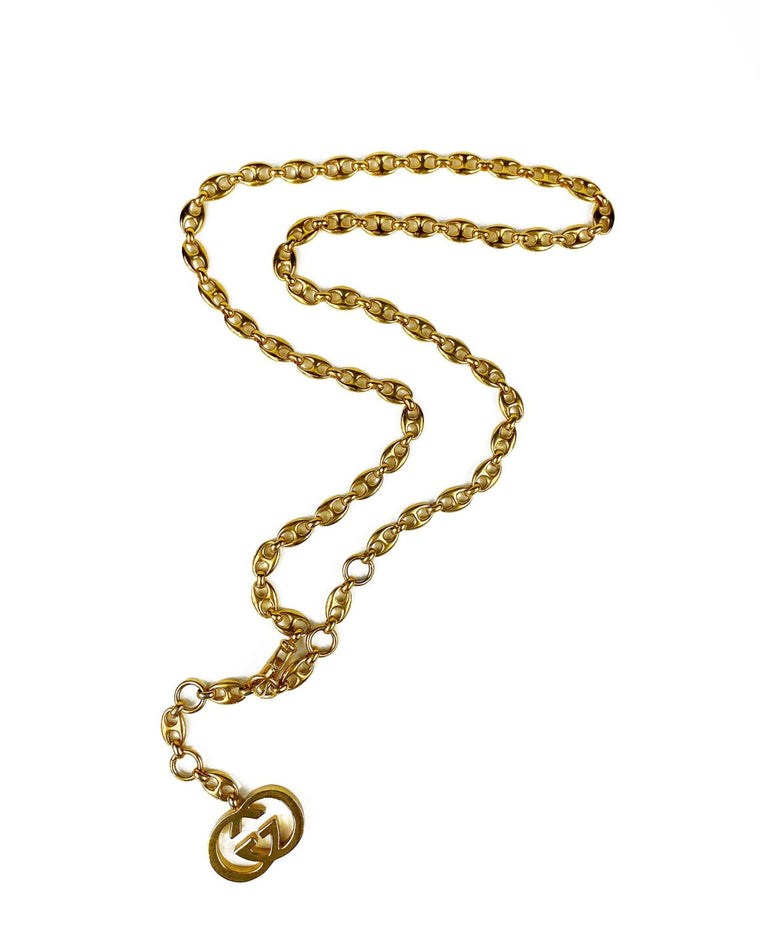 Gucci 1980s Chain Belt/Necklace