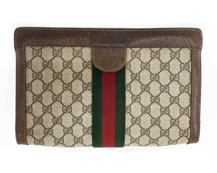 Gucci 1980s Clutch Bag