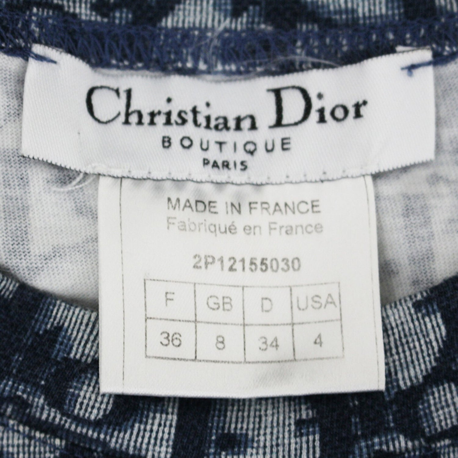 Fruit Vintage Christian Dior Navy Monogram logo trotter/oblique print tank top from the early 2000s designed by John Galliano, a Christian Dior collectors dream.