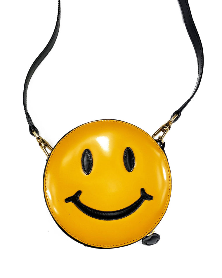 Moschino Rare Mini Smiley Face Bag