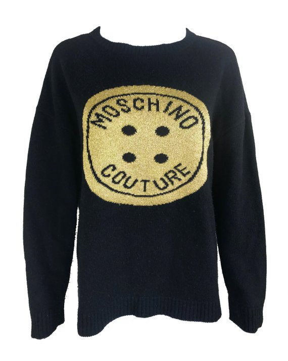 Moschino Couture Logo Knit Jumper