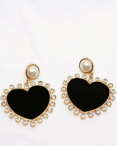 Big-Hearted Earrings