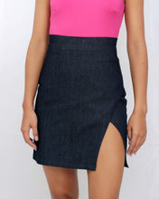 denim mini skirt for women
