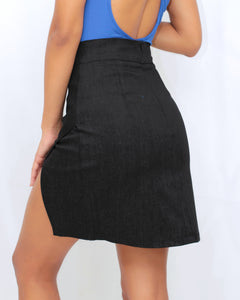 Slay It With Style Black Skirt