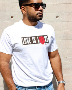 UNISEX Love is Love Graphic White T-shirt