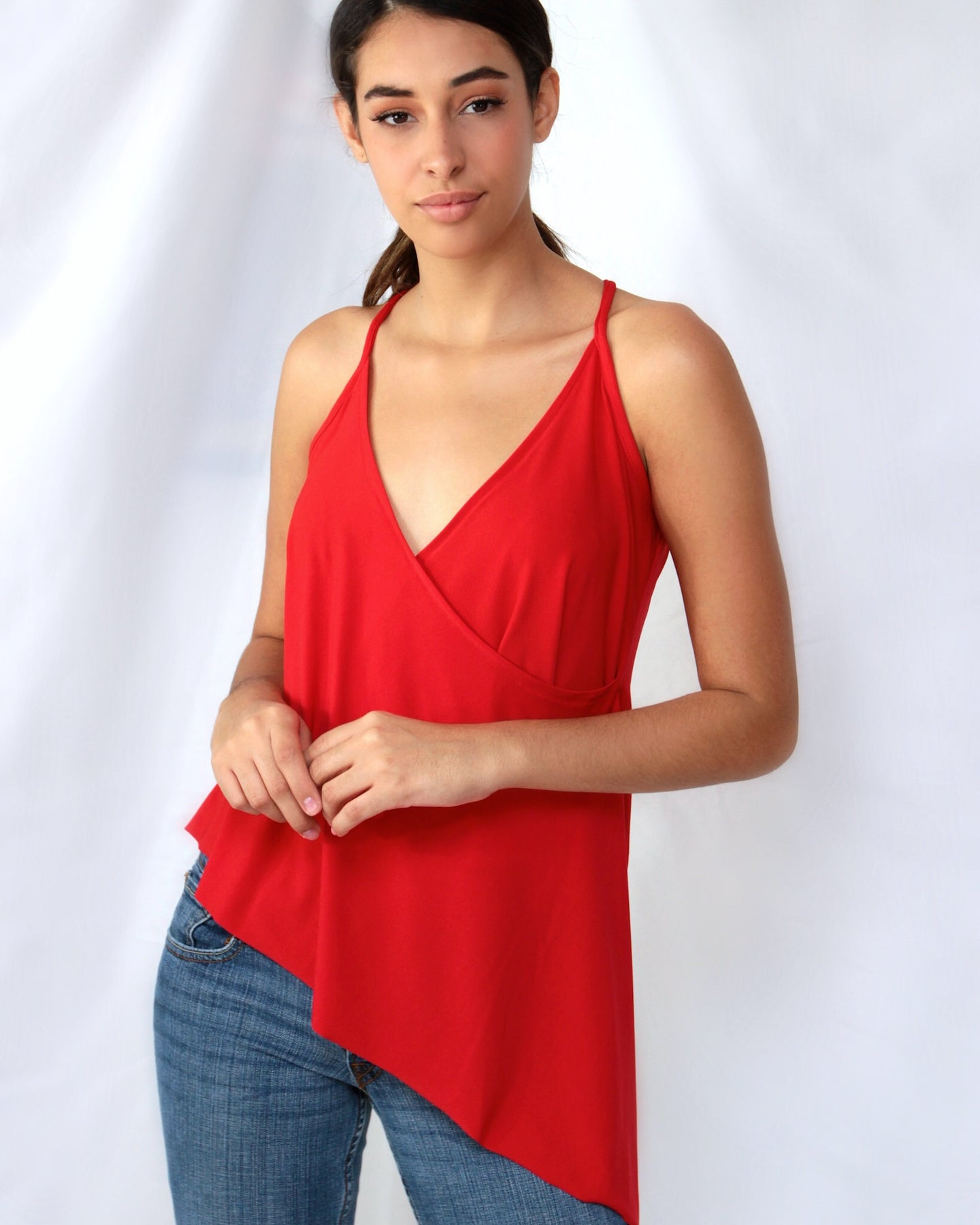 red top for women
