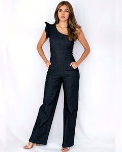 Radiate Denim Jumpsuit