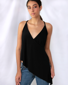 black fashion top for women