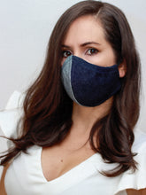 No Stress UNISEX-Dark Denim Face Mask