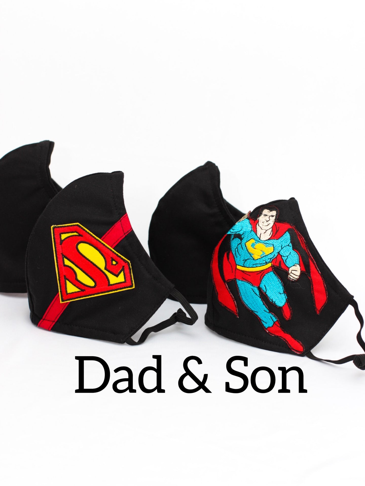 Super Dad & Me-Face Mask Set of 2