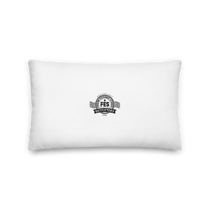 FES Passport Stamp Pillow - FES Outfitters