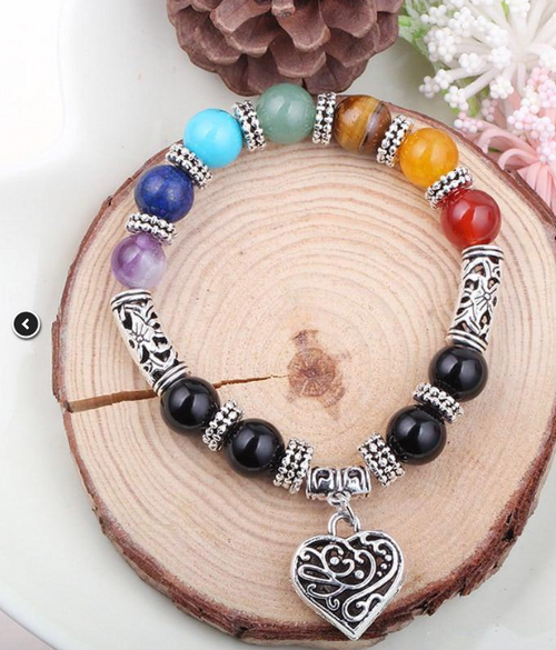Handcrafted Chakra Healing Bracelet