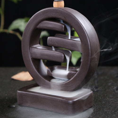 Peaceful Ceramic Incense Backflow