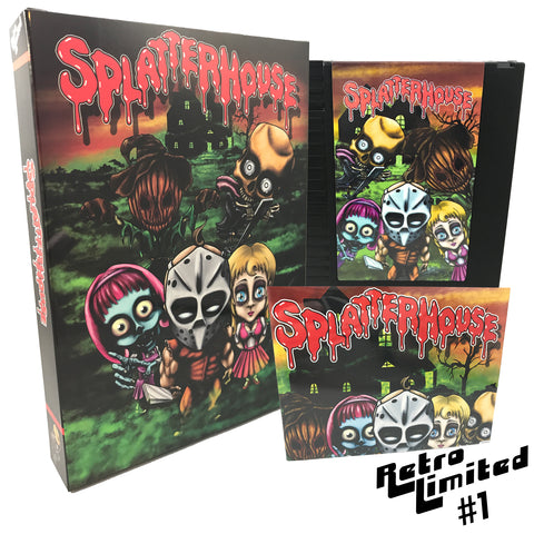 Retro Limited #1: Splatterhouse Wanpaku Graffiti (NES)