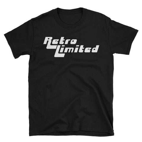 Retro Limited Logo Tee - Black