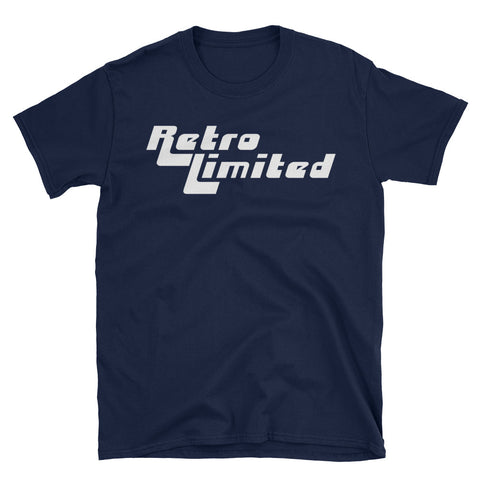 Retro Limited Logo Tee - Navy
