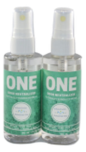 ONE odor neutralizer spray   2 pack  3 ounce
