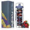 Fresh Fusions 32 oz Fruit Infuser Water Bottle