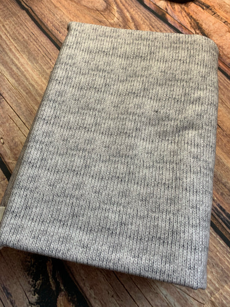 Light Grey Faux Sweater