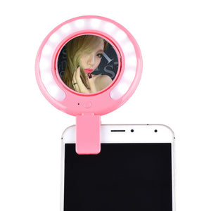 Mini Smartphone Selfie LED Light