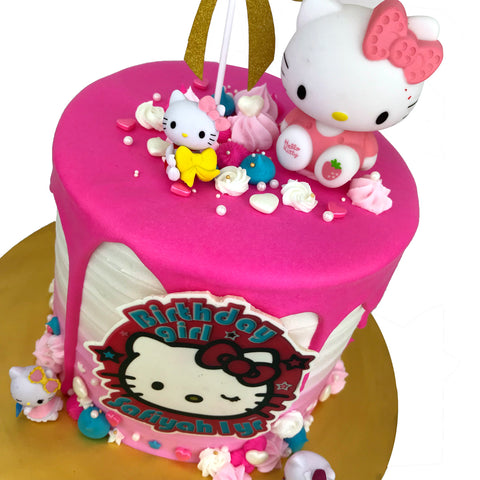 Hello Kitty Delight Cake