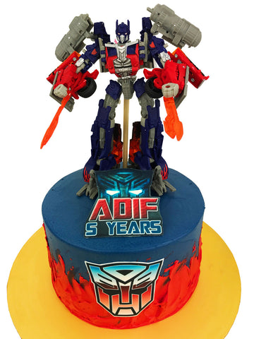 Transformers Prime Toy Cake