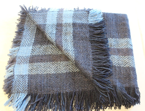Handwoven Mohair Throw