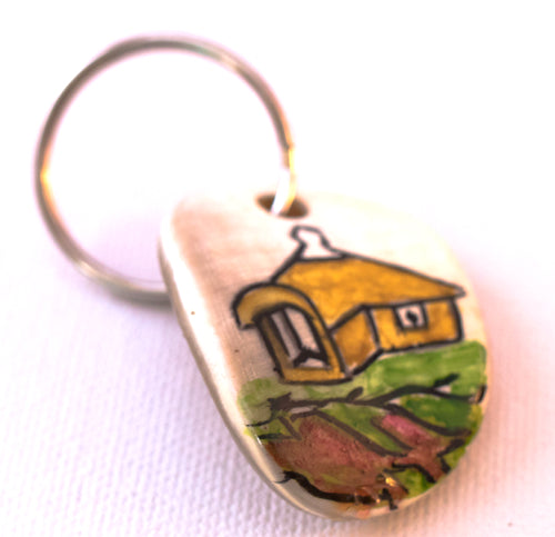 Lesotho Painted Key Ring
