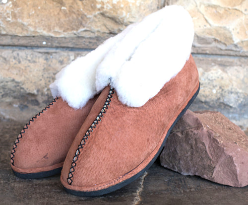 Tan Boottie Slippers