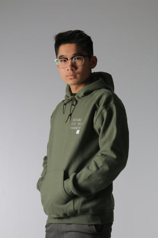 JSW Military Green Hoodie