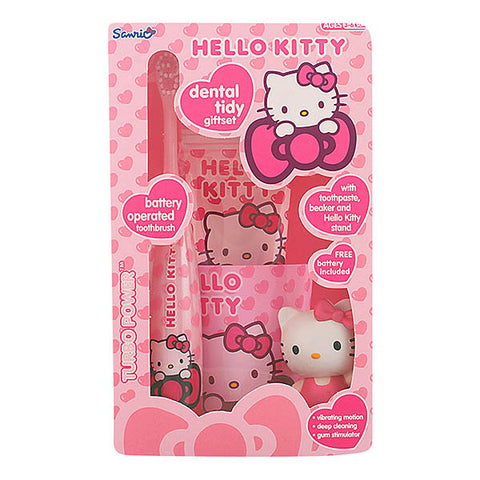 Hello Kitty - HELLO KITTY DENTAL TIDY LOTE 4 pz - Dealrays LTD