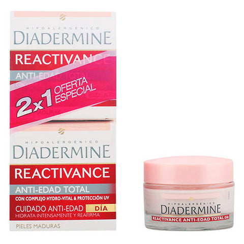 Diadermine - REACTIVANCE antiedad TOTAL LOTE 2 pz - Dealrays LTD