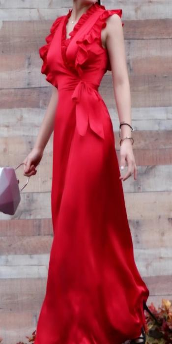 "Women's ""Ravishing in Red"" Long Dress"