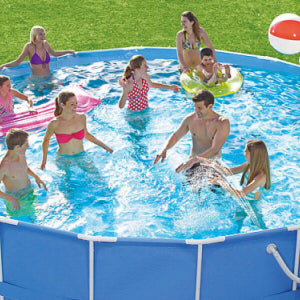Summer escapes summer waves intex and bestway above - Summer waves pool ...