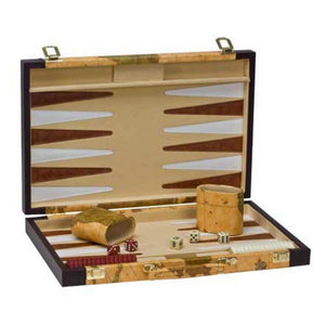 Complete backgammon set with old world map case publicscrutiny Images