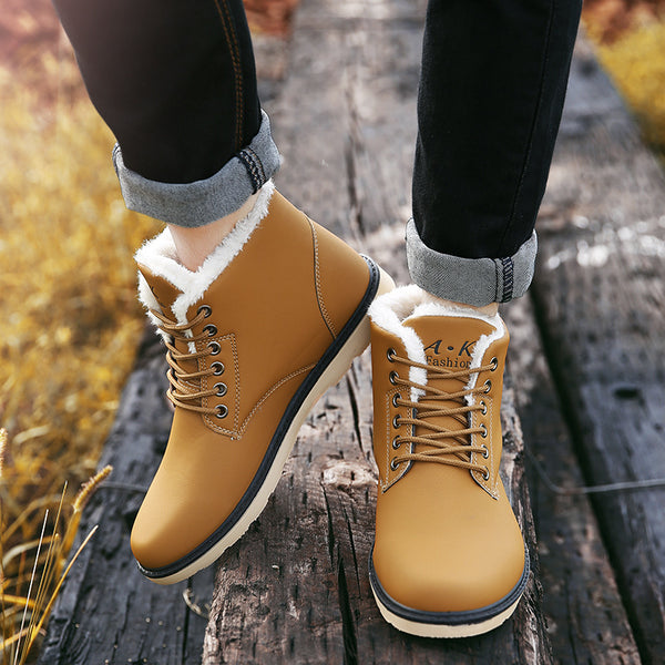 Lace-up Winter