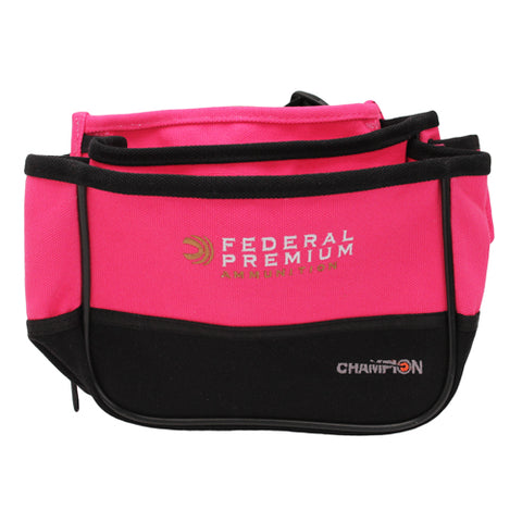 Champion Traps and Targets Double Shell Pouch, Pink