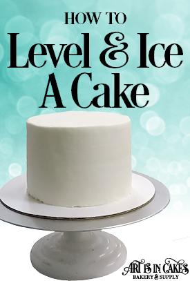 Level, Fill, and Ice Your Cake the Easy Way!