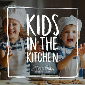 New This Week - Kids in the Kitchen | Art Is In Cakes, Bakery & Supply
