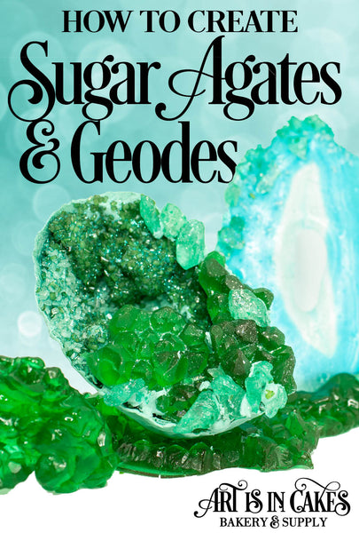 How to Create Sugar Agates and Geodes