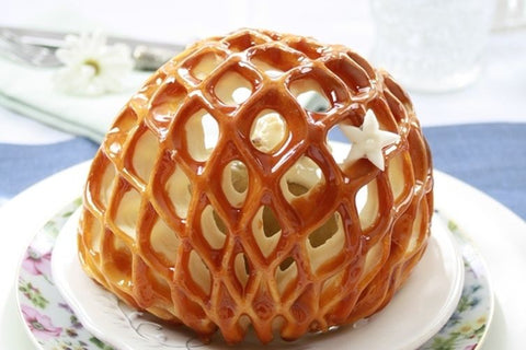 pastry cage for baked fruit