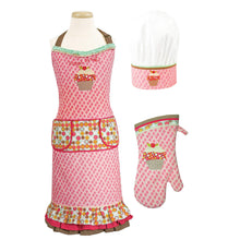 "3 Piece Kids Chef Set "" Sweet Stuff "" - Art Is In Cakes, Bakery & SupplyAprons and MittsDefault Title"