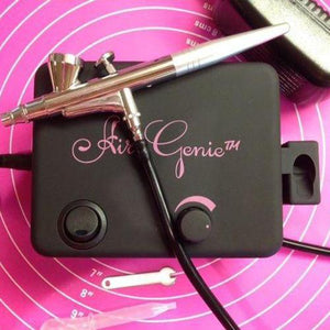 AirGenie® All-in-One Airbrush Kit with 1 Airbrush - Art Is In Cakes, Bakery & SupplyAirbrushDefault Title