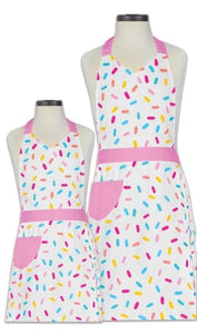 Pour on the Sprinkle Fun with The Mom and Me or Big Sister and Me Apron Set!