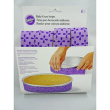 Bake-Even Strips For Perfectly Level Cakes 6 Piece Reusable Set - Art Is In Cakes, Bakery & SupplyCake Decorating ToolsDefault Title