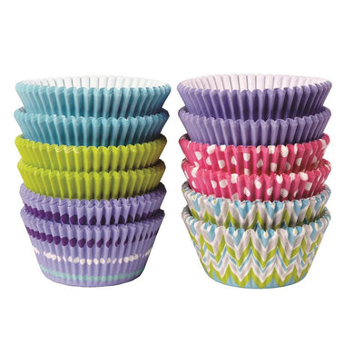 Baking Cups in Pastel Theme Pink, Purple, Blue, and Lime Green Pack of 300 - Art Is In Cakes, Bakery & SupplyCupcake LinersDefault Title