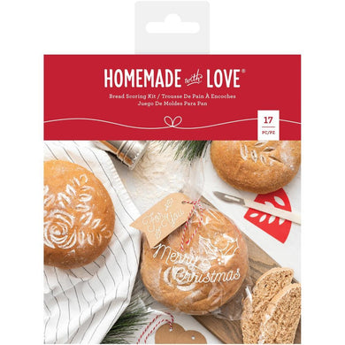 Bread Making Homemade with Love 17 Piece Bread Scoring Kit - Art Is In Cakes, Bakery & SupplyBread MakingDefault Title