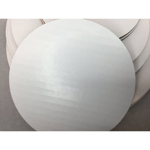 "Cake Boards, Round, in Grease Resistant Corrugated Cardboard - Art Is In Cakes, Bakery & SupplyCake Boards6"" round"