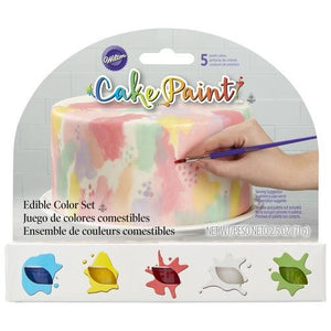 Cake Paints by Wilton, An Opaque Paint That Acts Like Acrylics - Art Is In Cakes, Bakery & SupplyFood colorPrimary Colors