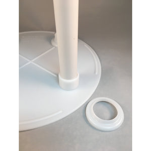 Cake Support Stacked Cake Round Separator Plate (SPS Single Plate System) with Secure Column Attachment - Art Is In Cakes, Bakery & SupplySupport Systems6""